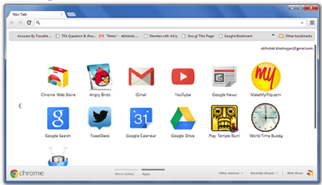 Chrome Browser for PC Features