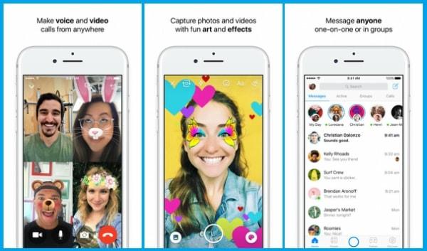 Facebook Messenger for iPhone