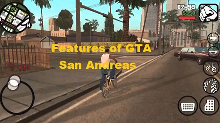 Features of GTA San Andreas for Android