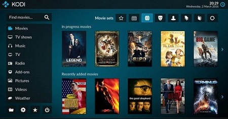 Features of Kodi App for Android