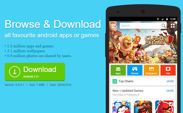 1Mobile Market APK Download