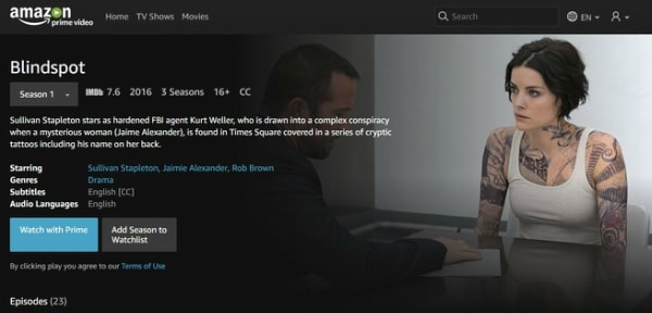 Amazon Prime Video App Download
