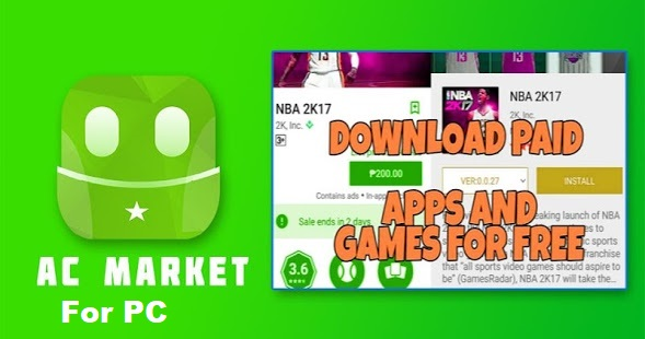 Download ACMarket for PC