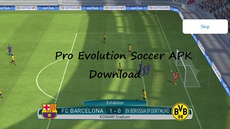 Download Pro Evolution Soccer 2017 APK for Android