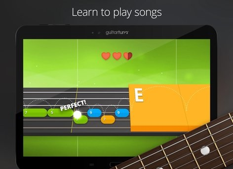 Features of GuitarTuna APP for Android
