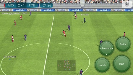 Features of Pro Evolution Soccer 2017 for Android