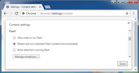 How to enable Adobe Flash Player