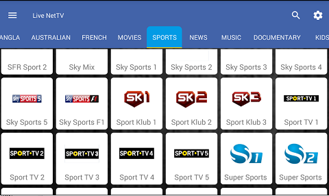 Live NetTV for iPhone Download iOS - Live Net TV