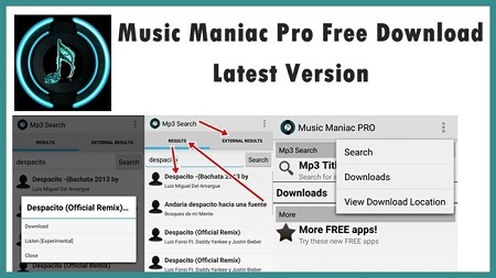 Music Maniac Pro APK Features