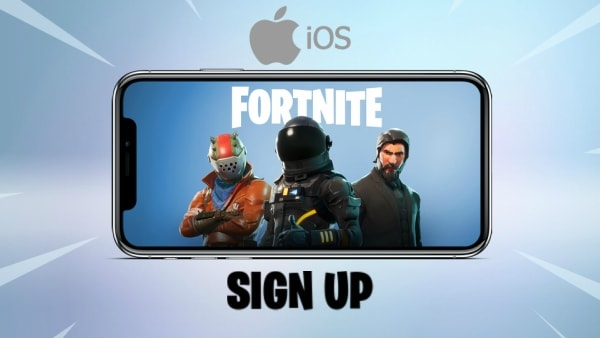 Fortnite Mobile Sign Up