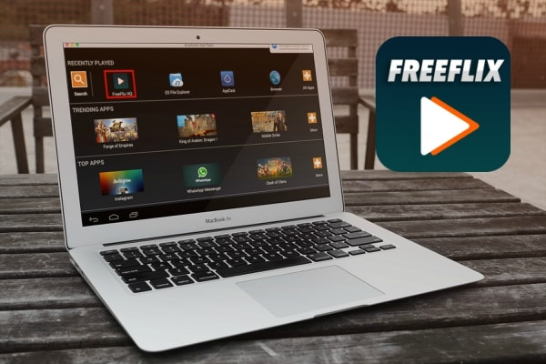 FreeFlix HQ App on PC