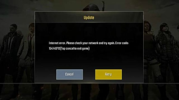 PUBG Mobile Not Working